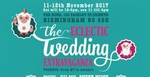 Eclectic Wedding Extravaganza  - all about EWE / This is not just any wedding inspiration board this is a board for the most BAAAD ASS MO FLO suppliers from EWE 2017  www.allaboutewe.co.uk