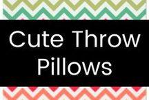 Cute Throw Pillows