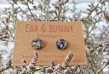Resin jewellery / Fine resin jewellery by Cha&Bunny, visit https://www.etsy.com/shop/chaandbunny
