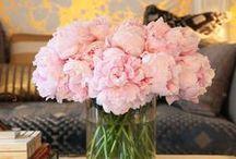 Florals / Florals // Floral Arrangements // Flowers // Floral Bouquets // Pink // Pink Flowers