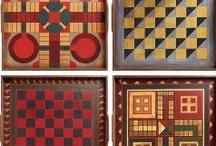Game Boards / Folk Art / by Nancy Moore