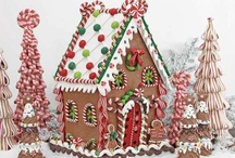 Gingerbread Houses / by Lorianne Lewis-Hopper