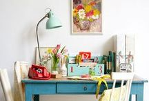 OFFICE + CRAFT ROOM / home