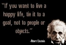 Albert Einstein Quotes / by Florina Iacob