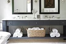 BATHROOMS + LAUNDRY / home