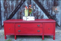 Red Furniture  / by Sarah Trop - FunCycled