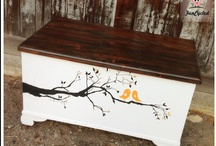 Trunk Ideas  / by FunCycled Furniture - Sarah Trop