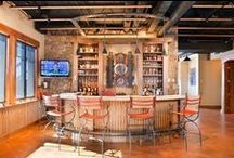 Home: Man Cave, Game room / Great items, decor, finishes for a man cave.