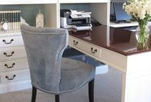 Home: Office / Home office inspiration, offices I love, work spaces, work space ideas