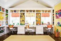 Home: Craft Room / craft room inspiration, craft room organization, craft room ideas