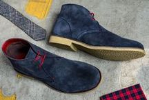 Put Your Best Foot Forward / A selection of the shoes available at Moss Bros. From our own brand collections and other brands exclusive to Moss Bros. / by Moss Bros