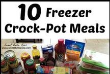 Crock pot meals / by Tracy Perrine