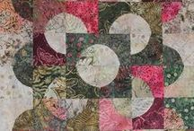 to quilt - curves n circles