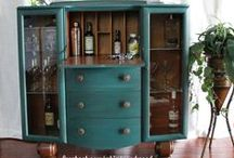 Painted Furniture Makeovers | Whimsy and Wood / Furniture, Painted Furniture, Restored Furniture- All done by Jennifer Borrego at Whimsy and Wood