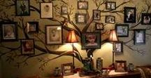 Great Gallery Walls / A great gallery wall can be the perfect answer to your decorating challenges. I have saved some of my favorite gallery walls here for you