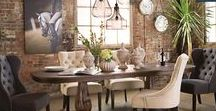 Home: Beautiful Dining Rooms / All things Dining Rooms, dining room inspiration,