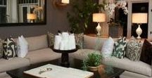 Home: Beautiful Family Rooms / Family rooms, living rooms, home. Family rooms done right.