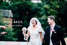 Hire for your Occasion / Whether you're a groom or guest, our collection of suits will have you looking your best / by Moss Bros.