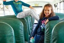 Back to School | Lands' End Kids / It's that time of year again... back to school. Make Lands' End your one stop shop for all of your back to school needs for your little ones. From dresses to athletic clothes, graphic tees to hoodies, jackets to jeans, Lands' End is your Back to School HQ.