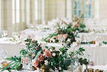 ślub | kwiaty na stół