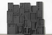 "Louise Nevelson / ""Louise Nevelson: Collage and Assemblage"" is on view at 534 West 25th Street through February 28, 2015. / by Pace Gallery"
