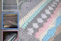 Mijn streepjesdeken. CAL 2014 / Ik doe mee met de crochet along. 2014.  In 48 weken een leuke deken