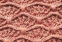 Haaksteken ~ crochetstich / Verschillende steken en patronen
