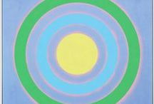 Kenneth Noland / Kenneth Noland (b. 1924 – d. 2010) attended Black Mountain College in the late forties and developed an early interest in the emotional effects of color and geometric forms. / by Pace Gallery