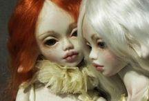 RED PEPE / porcelain dolls