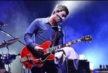 Noel Gallagher + Omar Pedrini - Milan 2015 / #NoelGallagher #NGHFB #OmarPedrini #Milan