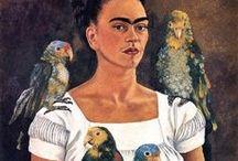 Frida kahlo / by Caroline thruston