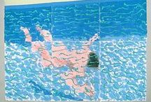 David Hockney / by Caroline thruston
