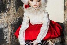 JooDela RED / Porcelain doll JooDela RED by Irina Lumiere
