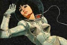 Futurismo / Inspiração para desenvolvimento de coleção sobre o futurismo da década de 60.