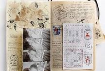 Journals / Pages of journals inspiration!
