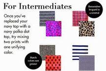 Truques de Stylist / Dicas sobre combinação de cores, roupas e acessórios.