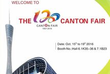 Canton Fair 2016 / 120th Canton Fair,Booth NO.: 6.1 K35-36  &  7.1 B23