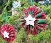 christmas crafts / The best and most beautiful Christmas crafts on Pinterest.