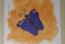Footprint Fun / Art made with feet!