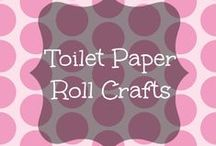Toilet Paper Roll Crafts / Different types of crafts that can be made with toilet paper rolls!