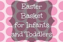 Easter Basket for Infants and Toddlers / Easter Basket for Infants and young Toddlers