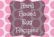 Hard-Boiled Eggs Recipes