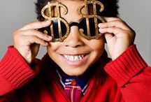 """Money-Smart Kids / Start building a foundation of financial literacy with your kids now! These money lessons will help you have """"The Talk"""" at all ages. / by Firefighters Community Credit Union"""