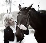 My Photography - Jessica and her horse / A beautiful fashion styled horse shoot/photography