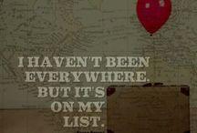 Dream Destinations / Travel the world! / by Dianna Rivera
