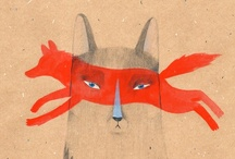 Illustration loves animals / by Lianne PM