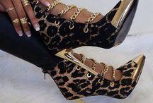 Leopard Heels & Purses