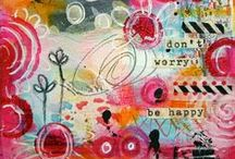 Art Journaling 2 / mixed media