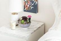 Bedroom Inspiration / Bedroom Decor, DIY crafts, Wall decor www.whimsicalmumblings.co.uk