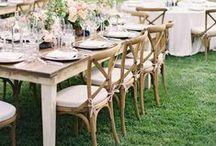 WEDDING RECEPTION / ideas to make your #wedding reception fun + festive!